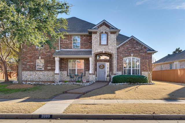 2099 Barret Drive, Frisco, TX 75033 (MLS #14217555) :: Caine Premier Properties