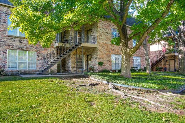 4413 Bellaire Drive S 204S, Fort Worth, TX 76109 (MLS #14217801) :: The Hornburg Real Estate Group