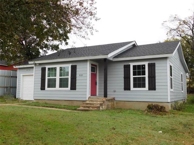 4105 Ramey Avenue, Fort Worth, TX 76105 (MLS #14217847) :: RE/MAX Town & Country