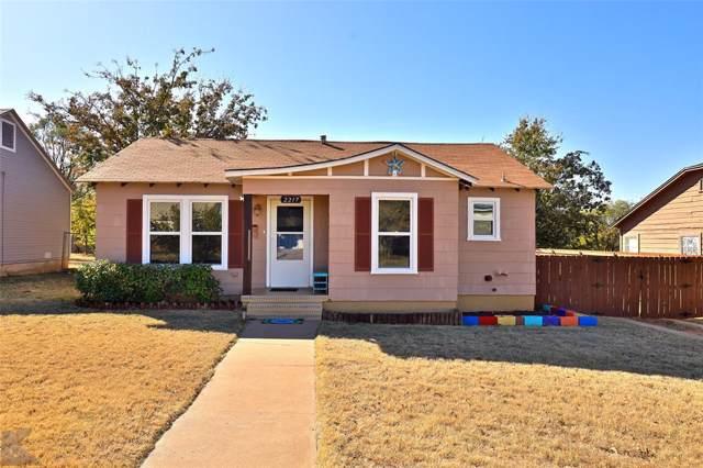 2217 Melrose Street, Abilene, TX 79605 (MLS #14217879) :: RE/MAX Town & Country