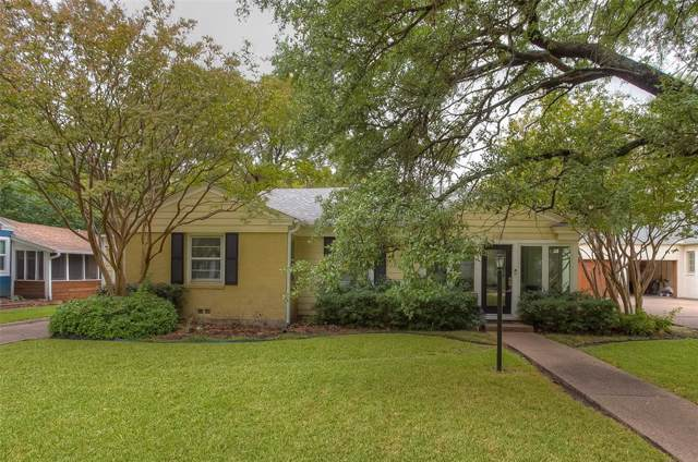 6412 Kenwick Avenue, Fort Worth, TX 76116 (MLS #14218050) :: The Mitchell Group