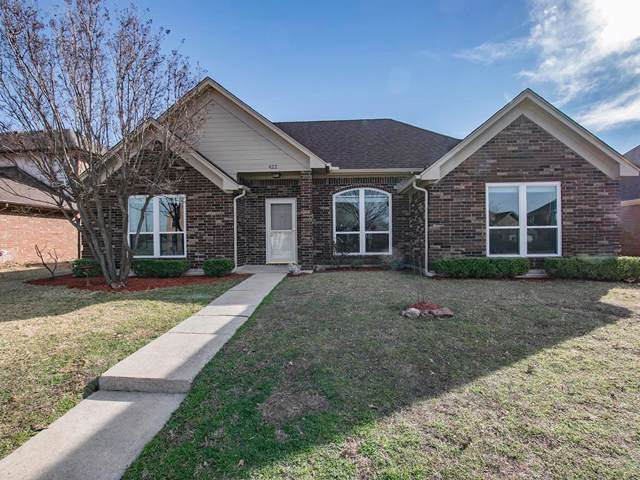 422 N Gaston Drive, Wylie, TX 75098 (MLS #14218096) :: RE/MAX Town & Country