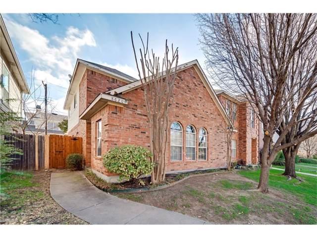 8620 Hawthorne Street, Frisco, TX 75034 (MLS #14218203) :: Tenesha Lusk Realty Group
