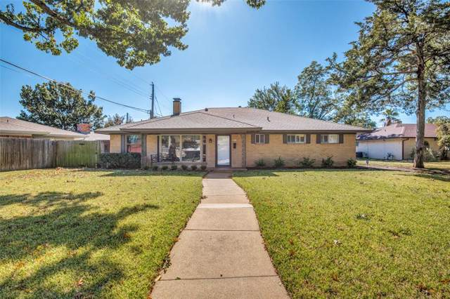 2913 Hillcrest Drive, Irving, TX 75062 (MLS #14218484) :: RE/MAX Town & Country