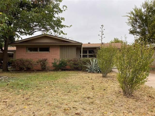 1334 S Jefferson Drive, Abilene, TX 79605 (MLS #14218497) :: Century 21 Judge Fite Company