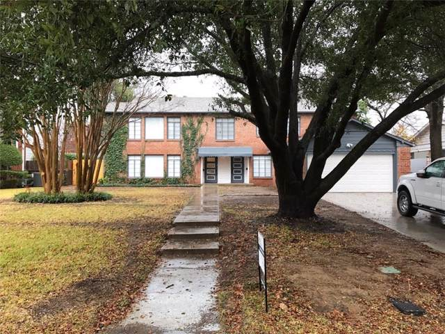 3605 Shelby Drive, Fort Worth, TX 76109 (MLS #14218538) :: The Mitchell Group
