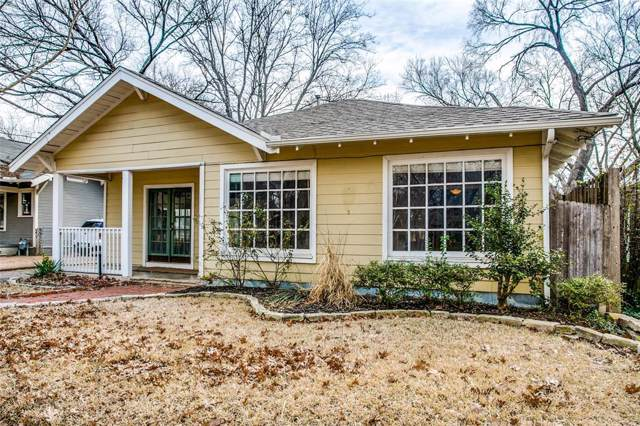 5400 Worth Street, Dallas, TX 75214 (MLS #14218638) :: RE/MAX Town & Country