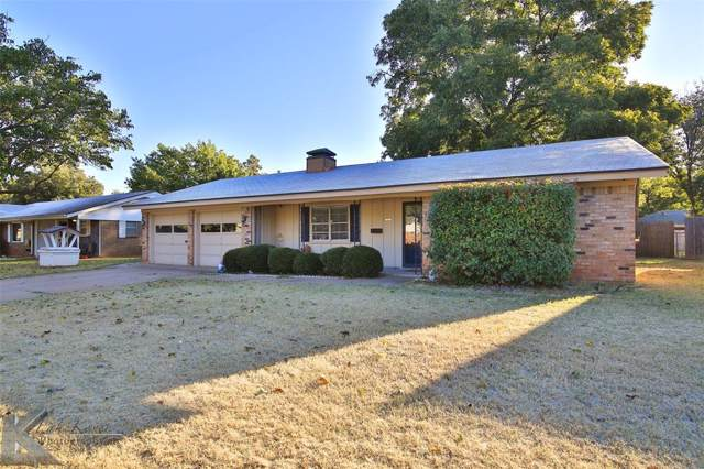 1525 Marsalis Drive, Abilene, TX 79603 (MLS #14218831) :: RE/MAX Town & Country