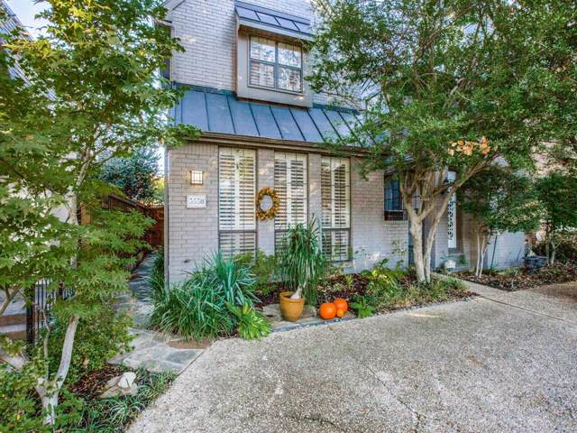 3550 Granada Avenue, University Park, TX 75205 (MLS #14218896) :: Van Poole Properties Group