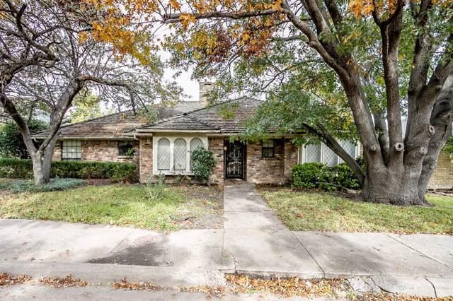 6009 Davenport Road, Dallas, TX 75248 (MLS #14218942) :: The Good Home Team