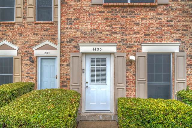 3801 14th Street #1405, Plano, TX 75074 (MLS #14218980) :: RE/MAX Town & Country