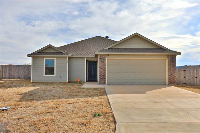319 Foxtrot Lane, Abilene, TX 79602 (MLS #14218992) :: Ann Carr Real Estate