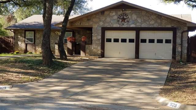 929 Lake Ridge Drive, Azle, TX 76020 (MLS #14218995) :: Real Estate By Design