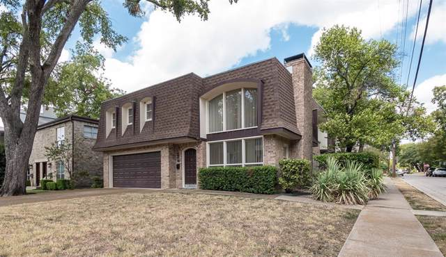 3428 Normandy Avenue, University Park, TX 75205 (MLS #14219162) :: RE/MAX Town & Country