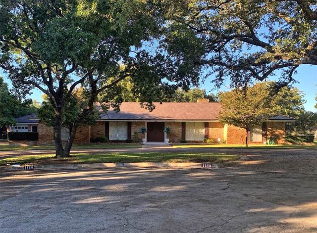 106 Parkview Terrace, Brownwood, TX 76801 (MLS #14219273) :: RE/MAX Town & Country