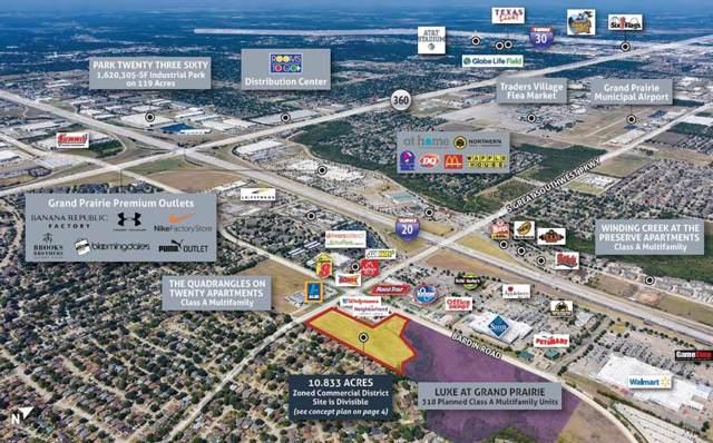 4115 S Great Southwest Parkway, Grand Prairie, TX 75052 (MLS #14219315) :: Ann Carr Real Estate