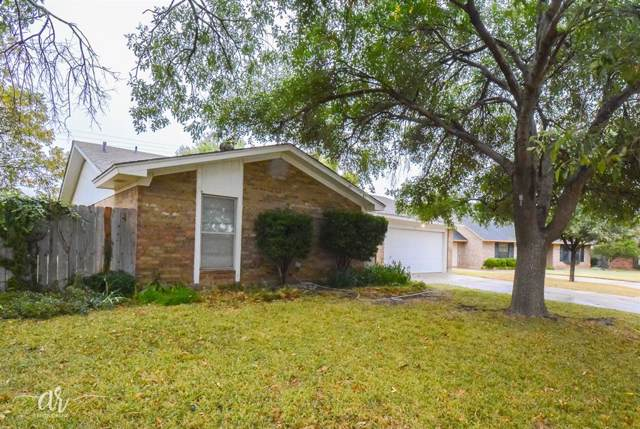 3010 Arlington Avenue, Abilene, TX 79606 (MLS #14219445) :: The Chad Smith Team