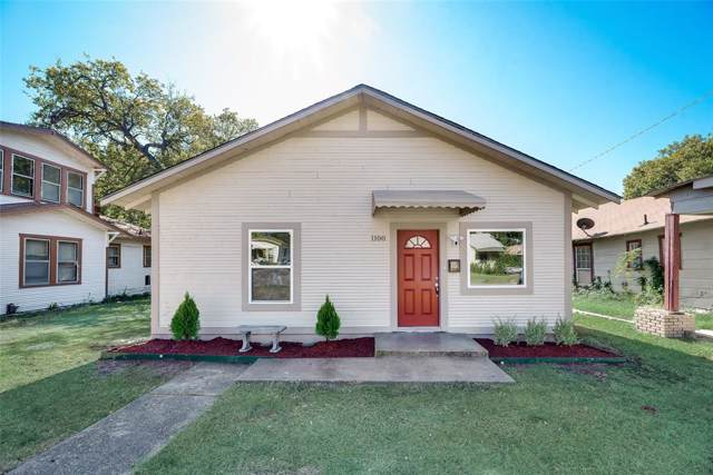 1100 E Richmond Avenue, Fort Worth, TX 76104 (MLS #14219499) :: RE/MAX Town & Country