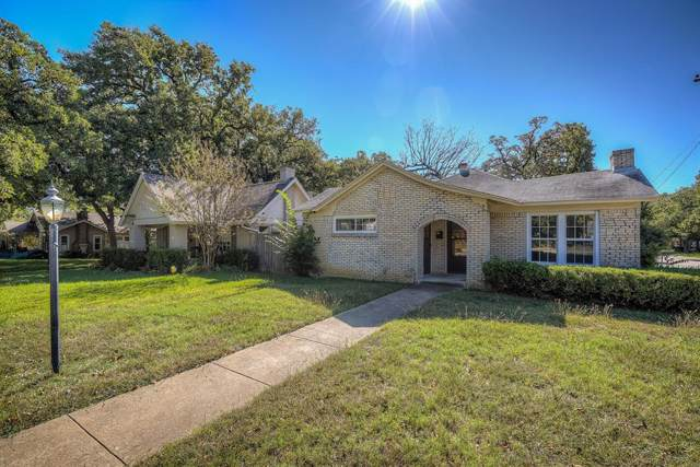 2500 Goldenrod Avenue, Fort Worth, TX 76111 (MLS #14219530) :: RE/MAX Town & Country