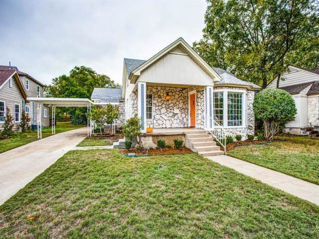 1420 Brunner Avenue, Dallas, TX 75224 (MLS #14219561) :: RE/MAX Town & Country
