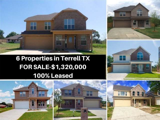122 Brooks Street, Terrell, TX 75160 (MLS #14219610) :: RE/MAX Town & Country