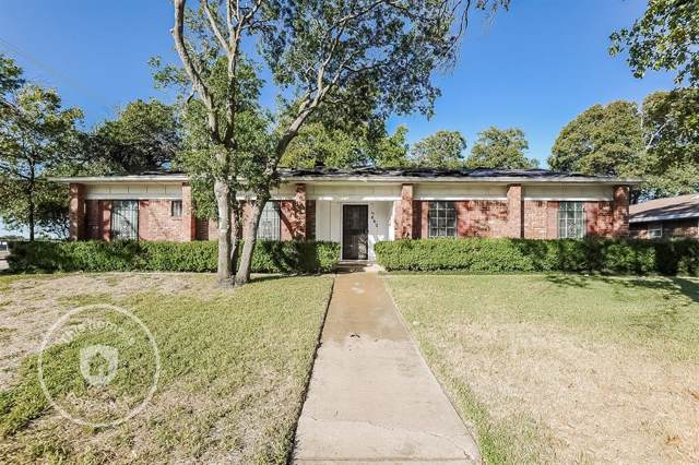5662 Woodway Drive, Fort Worth, TX 76133 (MLS #14219638) :: RE/MAX Town & Country
