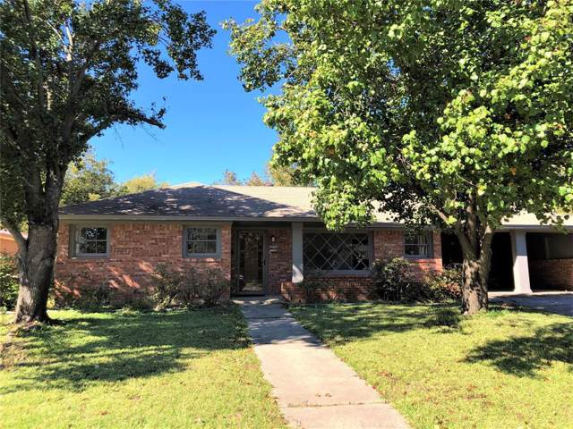 1205 Magnolia Street, Gainesville, TX 76240 (MLS #14219692) :: RE/MAX Town & Country