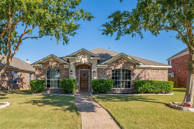 1122 Wetland Drive, Frisco, TX 75033 (MLS #14219698) :: RE/MAX Town & Country