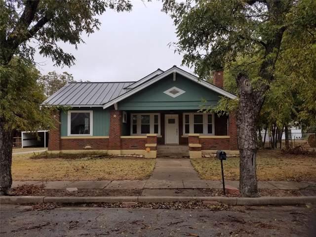 713 W Pecan Street, Coleman, TX 76834 (MLS #14219768) :: Hargrove Realty Group