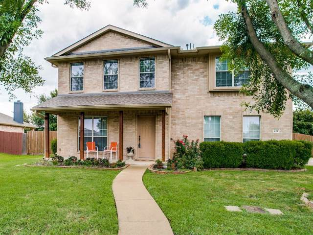 412 Ponderosa Trail, Murphy, TX 75094 (MLS #14219776) :: The Chad Smith Team
