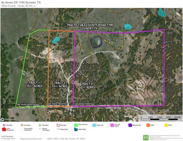 Tract 2 County Road 1790, Sunset, TX 76270 (MLS #14220004) :: RE/MAX Town & Country