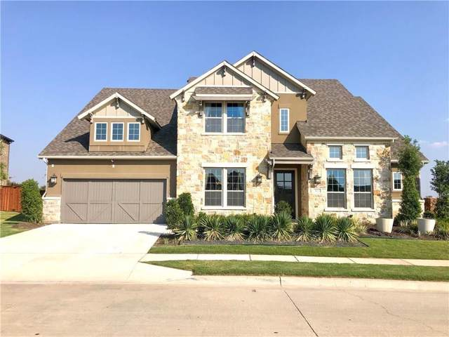 3613 Meridian Drive, Northlake, TX 76226 (MLS #14220019) :: Van Poole Properties Group
