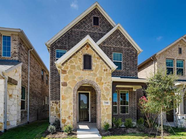 7500 Palisades Drive, Rowlett, TX 75088 (MLS #14220053) :: The Kimberly Davis Group