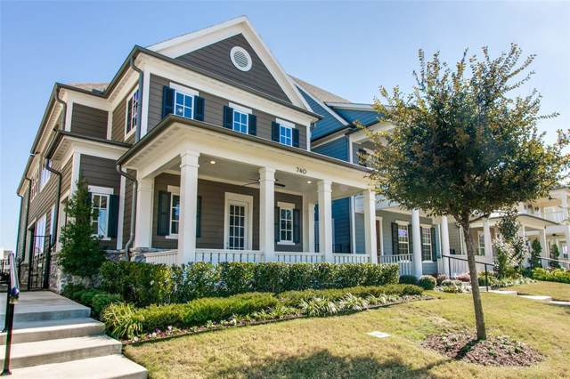 740 Hammond Street, Coppell, TX 75019 (MLS #14220147) :: RE/MAX Town & Country