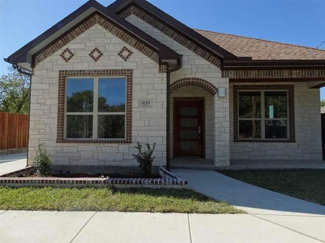 4103 Furey Street, Dallas, TX 75212 (MLS #14220156) :: The Chad Smith Team