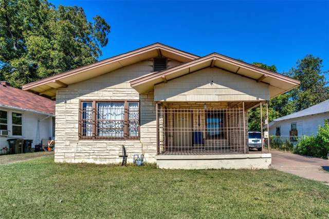 1253 Elmwood Avenue, Fort Worth, TX 76104 (MLS #14220499) :: North Texas Team | RE/MAX Lifestyle Property