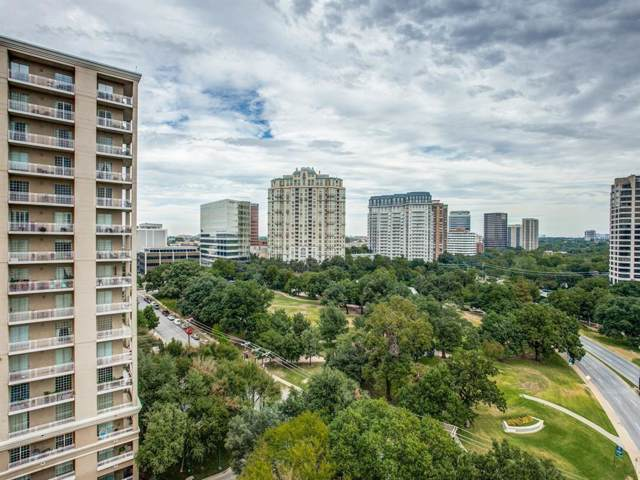 3225 Turtle Creek Boulevard #1205, Dallas, TX 75219 (MLS #14220612) :: The Hornburg Real Estate Group