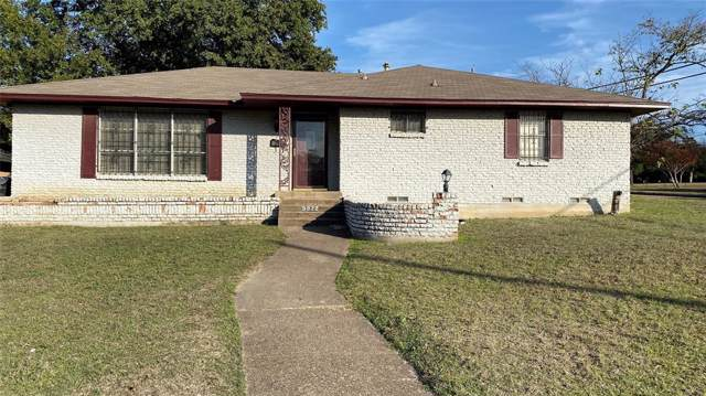 5922 Sumatra Drive, Dallas, TX 75241 (MLS #14220661) :: The Hornburg Real Estate Group