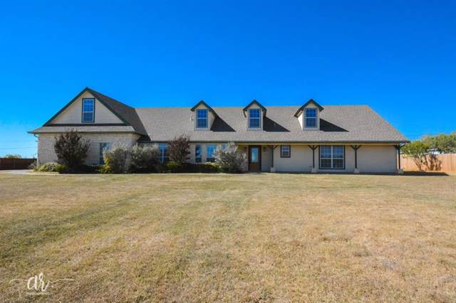 150 Pilgrim Road, Abilene, TX 79602 (MLS #14220689) :: The Chad Smith Team