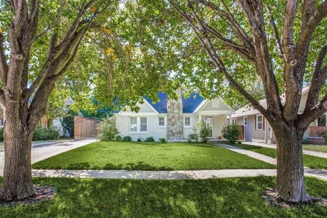 5329 El Campo Avenue, Fort Worth, TX 76107 (MLS #14220713) :: Real Estate By Design