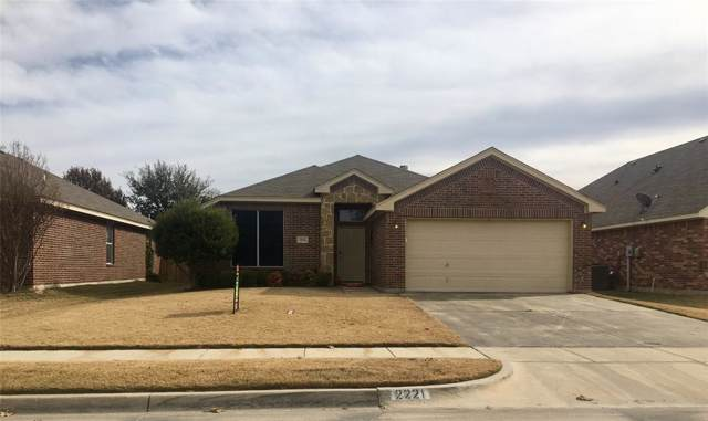 2221 Kaitlyn Drive, Weatherford, TX 76087 (MLS #14220930) :: Hargrove Realty Group
