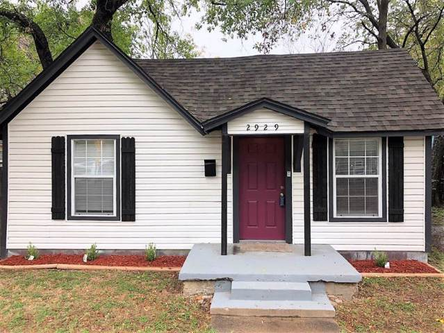 2929 Westbrook Avenue, Fort Worth, TX 76111 (MLS #14221077) :: RE/MAX Town & Country
