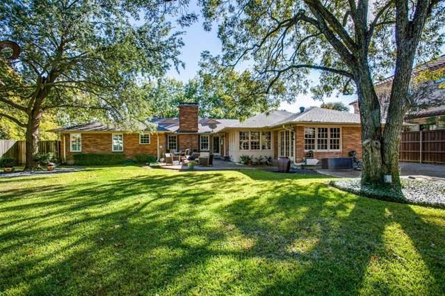 6431 Desco Drive, Dallas, TX 75225 (MLS #14221086) :: The Hornburg Real Estate Group