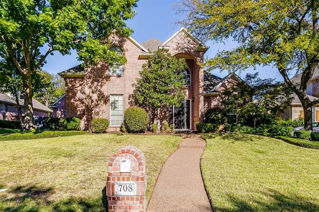 708 Glen Abbey Drive, Mansfield, TX 76063 (MLS #14221115) :: The Mitchell Group