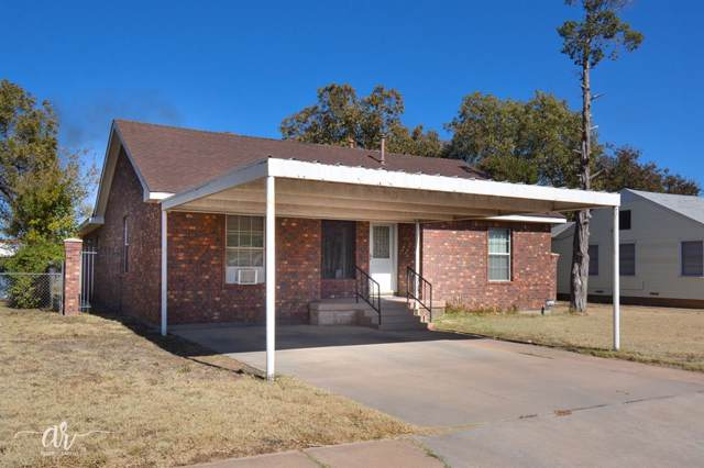 1658 S 15th Street, Abilene, TX 79602 (MLS #14221304) :: RE/MAX Town & Country