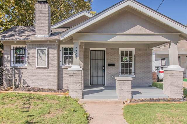 2705 Tanner Street, Dallas, TX 75215 (MLS #14221424) :: The Good Home Team