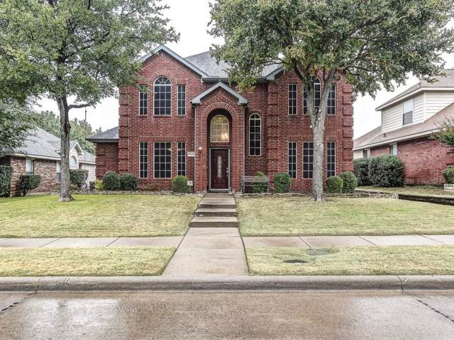 9602 Saddle Drive, Frisco, TX 75035 (MLS #14221441) :: RE/MAX Town & Country