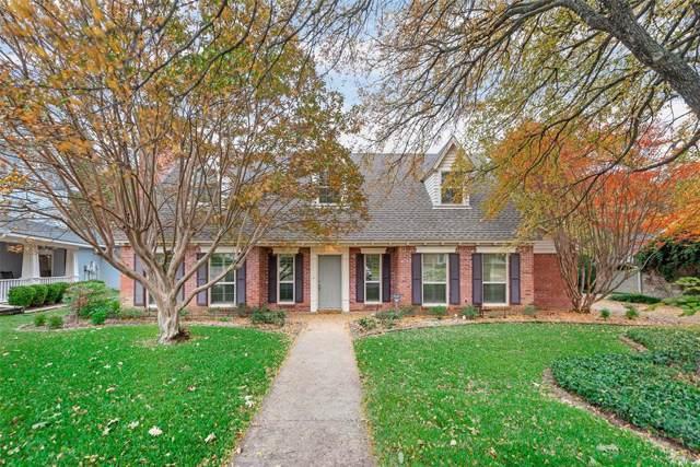 1909 Highland Park Circle, Denton, TX 76205 (MLS #14221560) :: RE/MAX Town & Country
