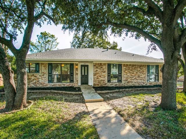 1887 Hilltop Drive, Lewisville, TX 75077 (MLS #14221586) :: Vibrant Real Estate