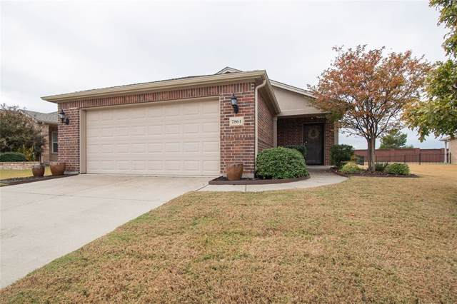 7861 Vistoso Drive, Frisco, TX 75036 (MLS #14221656) :: RE/MAX Town & Country